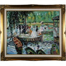 Renoir La Grenouillere (The Frog Pond) Hand Painted Oil on Canvas Wall Art