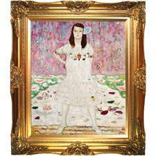 Portrait of Mada Primavesi Klimt Framed Original Painting