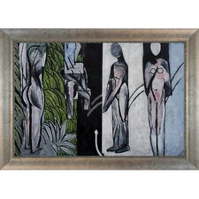 Bathers by A River Matisse Framed Original Painting