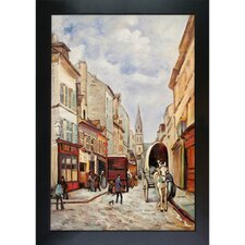 La Grand Rue, Argenteuil Sisley Framed Original Painting
