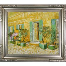 Exterior of a Restaurant at Asnieres Van Gogh Framed Original Painting