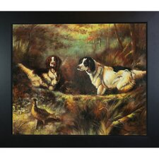 October in the Forest Tait Framed Original Painting