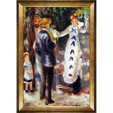 The Swing Renoir Framed Original Painting