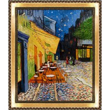 Cafe Terrace at Night Van Gogh Framed Original Painting