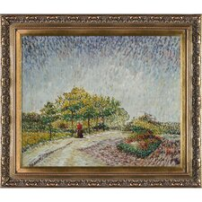 Lane in the Argenson Park at Asnieres Spring Van Gogh Framed Original Painting