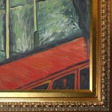 Landscape, Southern Modigliani France Framed Original Painting