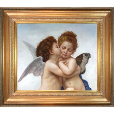 First Kiss Bouguereau Framed Original Painting