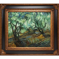 Olive Tree by Van Gogh Framed Hand Painted Oil on Canvas