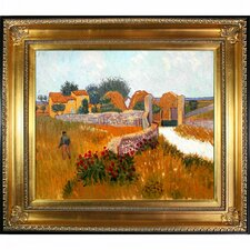 Farm House in Provence by Van Gogh Framed Hand Painted Oil on Canvas