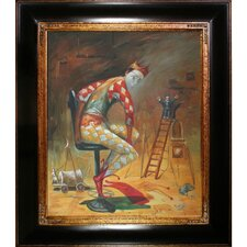 Time of King by Sergey Roy Framed Hand Painted Oil on Canvas