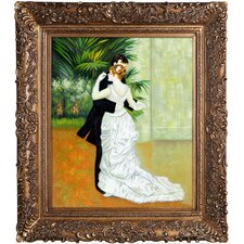 Dance in The City by Renoir Framed Hand Painted Oil on Canvas