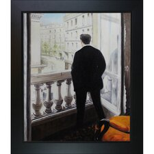 The Artist's Younger Brother, Rene in the Home on Rue De Miromesnil by Caillebotte Framed Hand Painted Oil on Canvas