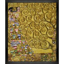 Expectation (Luxury Line) by Klimt Framed Hand Painted Oil on Canvas