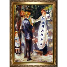 The Swing by Renoir Framed Hand Painted Oil on Canvas