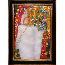 Sea Serpents IV (Modest - Luxury Line) by Klimt Framed Hand Painted Oil on Canvas