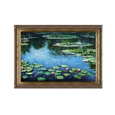 Monet Water Lilies Hand Painted Oil on Canvas Wall Art