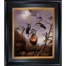 Heade Black-Breasted Plovercrest Canvas Art