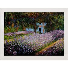 Monet Artist's Garden at Giverny Canvas Art