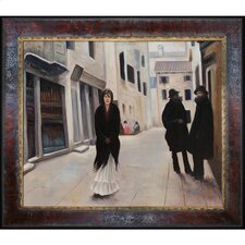 Sargent Street in Venice Canvas Art