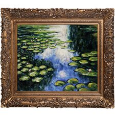 Monet Water Lily Pond Canvas Art