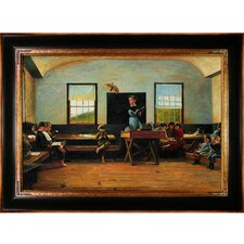 Homer The Country School Canvas Art