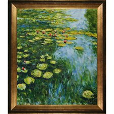 Monet Water Lilies Canvas Art