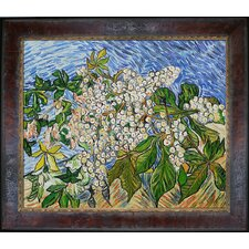 Van Gogh Blossoming Chestnut Branches Canvas Art