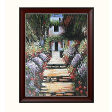 Monet Garden Path at Giverny Canvas Art