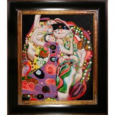 The Virgin by Klimt Framed Hand Painted Oil on Canvas