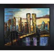 New York Bridge, 1999 Canvas Art