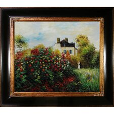 The Artist's Garden Canvas Art