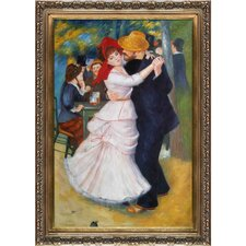 Dance at Bougival by Renoir Framed Hand Painted Oil on Canvas