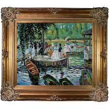 La Grenouillere (The Frog Pond) Canvas Art