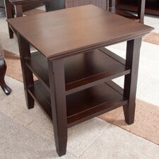 <strong>Simpli Home</strong> Acadian End Table