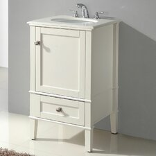 "<strong>Simpli Home</strong> Chelsea 21"" Single Bathroom Vanity Set"