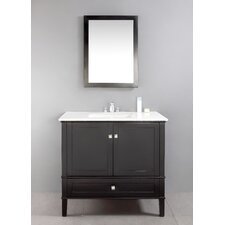 "<strong>Simpli Home</strong> Chelsea 36"" Single Bathroom Vanity Set"