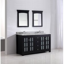 "Greyhaven 60"" Bathroom Vanity Set"
