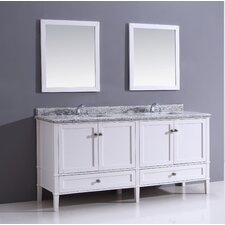 "Stonecastle 72"" Bathroom Vanity Set"