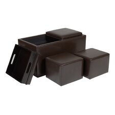 Avalon Storage Cube Ottoman (Set of 3)