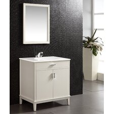 "Urban Loft Single 30"" Bathroom Vanity Set"
