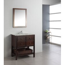 "<strong>Simpli Home</strong> Burnaby 30"" Bathroom Vanity Set"