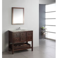 "<strong>Simpli Home</strong> Burnaby 36"" Bathroom Vanity Set"