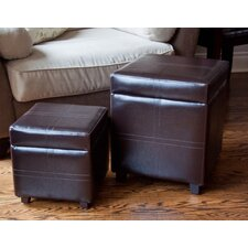 Avalon Storage Cube Ottoman (Set of 2)