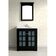 "<strong>Simpli Home</strong> Orleans Single 30"" Bathroom Vanity Set"