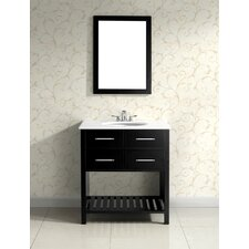 "<strong>Simpli Home</strong> Soho Single 30"" Bathroom Vanity Set"