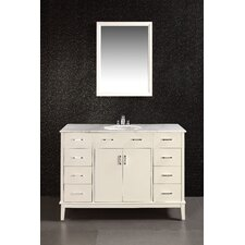 "<strong>Simpli Home</strong> Urban Loft Single 48"" Bathroom Vanity Set"