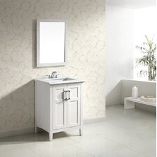 "<strong>Simpli Home</strong> Winston Single 24"" Bathroom Vanity Set"
