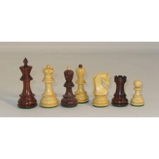 Rosewood Old Russian Chessmen