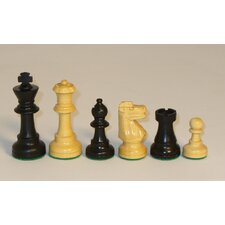 Small Black French Chessmen