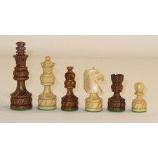 Royal Plus Carved Chessmen